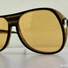 Vintage: VINTAGE RAY BAN B&L GAFAS MOD TIMBERLINE YELLO USA BROWN AVIATOR SUNGLASSES. Lote 221497153