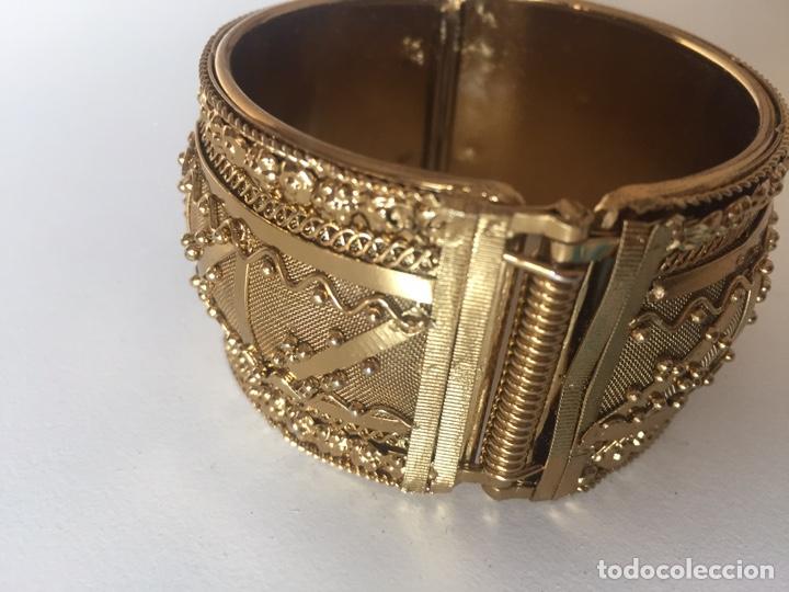 Vintage: Pulsera oro chapado - Foto 3 - 221514112
