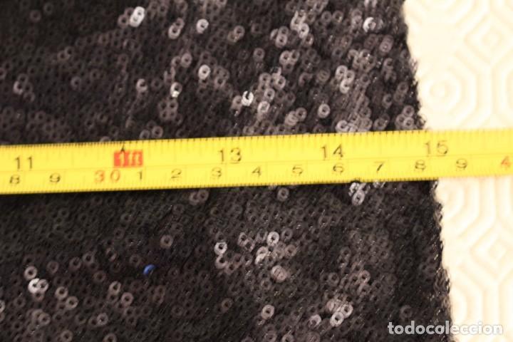 Vintage: Vintage Vestido Negro Tubo con V-Backs Sequin Brand Boyi 34/36 - Foto 13 - 221516445