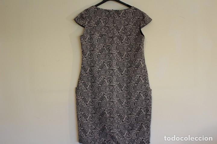 Vintage: Vintage Vestido Negro Satinado Gris de la marca ELOGY 40 - Foto 6 - 221516715