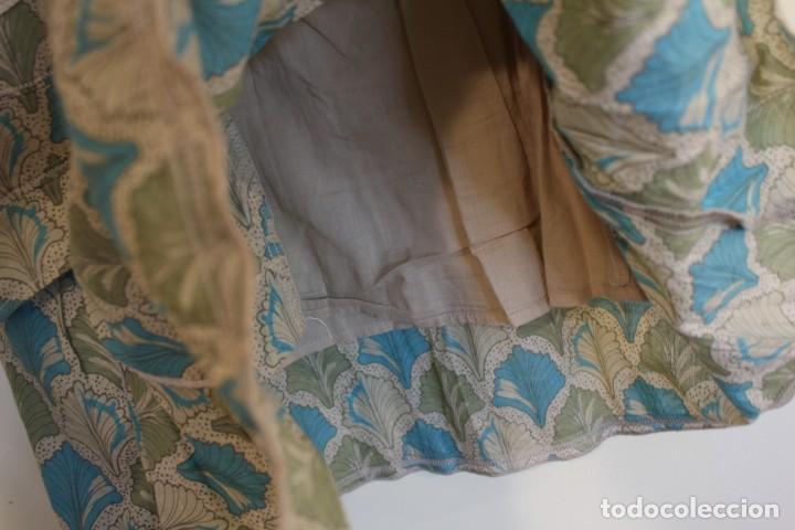 Vintage: Vintage Vestido 100% algodón flores secas en verde y azul DKNY Mark 14 (38) - Foto 8 - 221517216