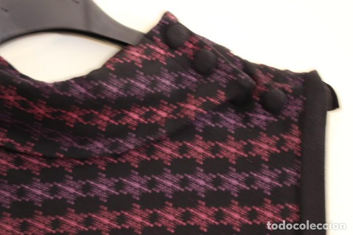 Vintage: Vintage Vestido de diseñador Rosalita Mc Gee Talla S - Foto 2 - 221517378