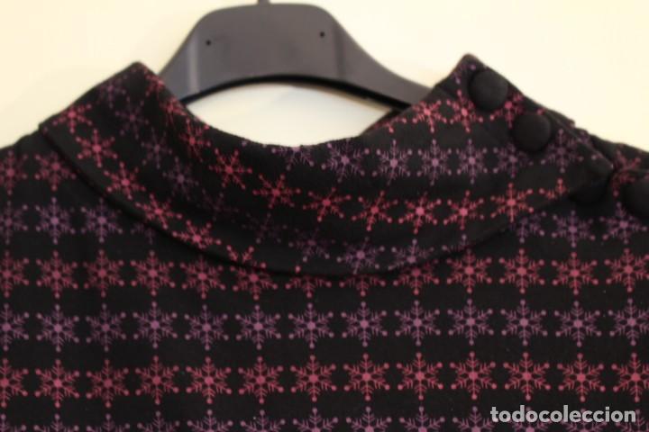 Vintage: Vintage Vestido de diseñador Rosalita Mc Gee Talla S - Foto 3 - 221517378