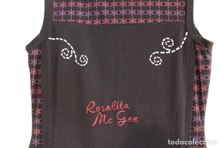 Vintage: Vintage Vestido de diseñador Rosalita Mc Gee Talla S - Foto 4 - 221517378