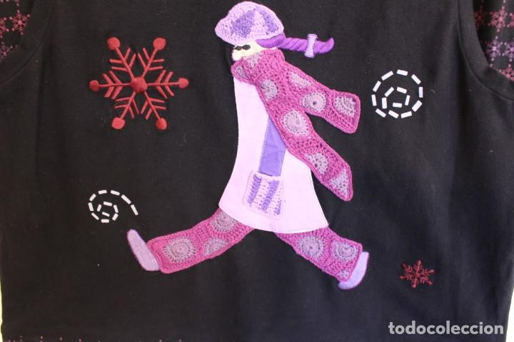 Vintage: Vintage Vestido de diseñador Rosalita Mc Gee Talla S - Foto 5 - 221517378