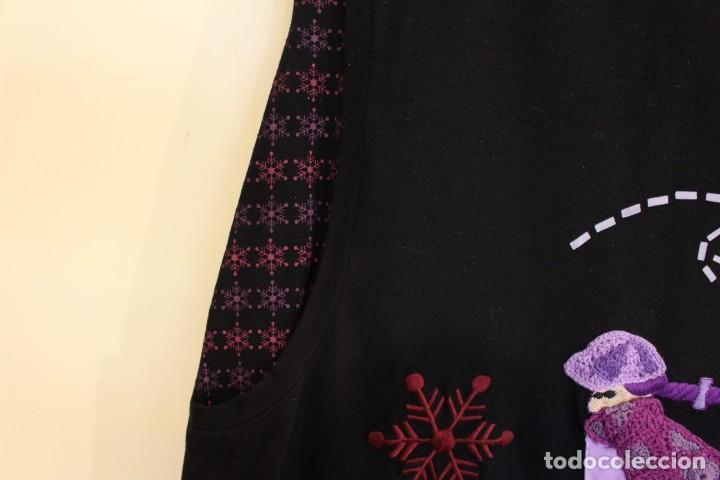 Vintage: Vintage Vestido de diseñador Rosalita Mc Gee Talla S - Foto 7 - 221517378