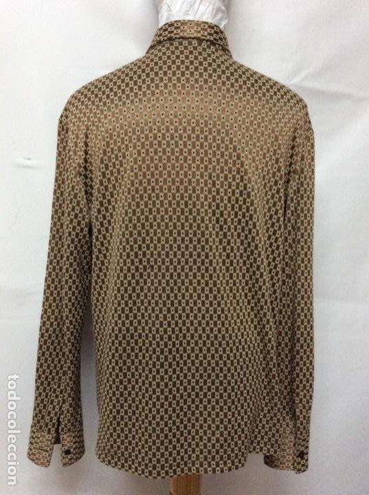 Vintage: Envió 8€. Camisa de hombre de fiesta marca GIANFRANCO FERRE de los 90. Talla XXL en muy buen estado - Foto 3 - 221554578