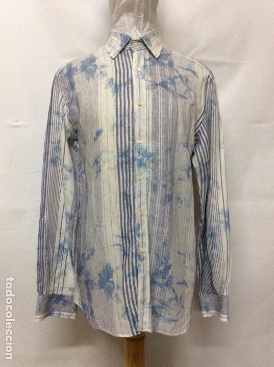 Vintage: Envió 8€. Camisa de hombre de la marca ETRO de los 80. Talla XXL en muy buen estado - Foto 2 - 221558082