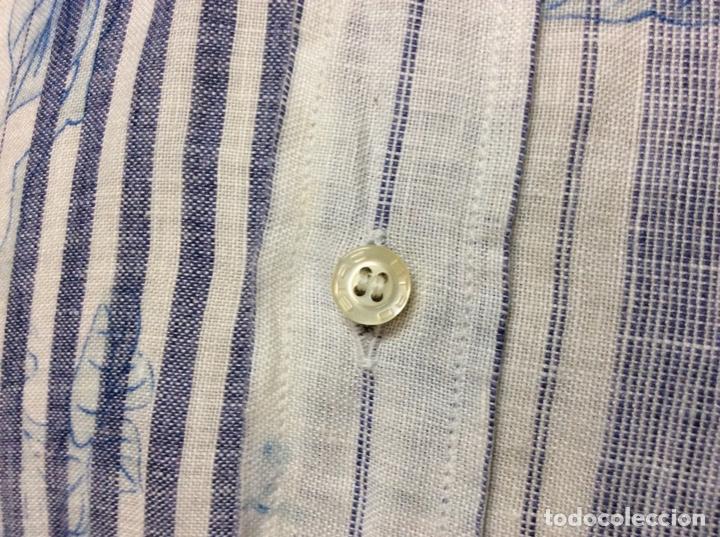 Vintage: Envió 8€. Camisa de hombre de la marca ETRO de los 80. Talla XXL en muy buen estado - Foto 3 - 221558082