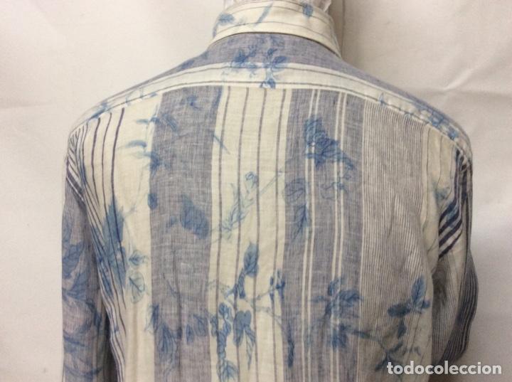 Vintage: Envió 8€. Camisa de hombre de la marca ETRO de los 80. Talla XXL en muy buen estado - Foto 5 - 221558082