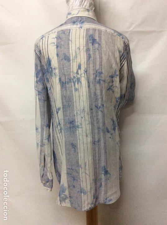 Vintage: Envió 8€. Camisa de hombre de la marca ETRO de los 80. Talla XXL en muy buen estado - Foto 6 - 221558082