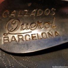 Vintage: ANTIGUO CALZADOR PUBLICIDAD CALZADOS QUEROL BARCELONA.. Lote 221825580