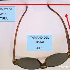 Vintage: GAFAS DE SOL DE PASTA.AÑOS 70. Lote 222002826