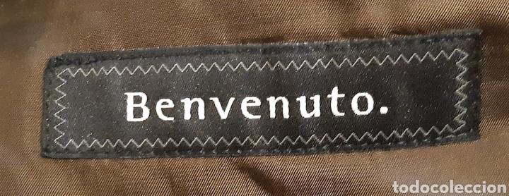 Vintage: Chaqueta Italiana de lana 100% firma BENVENUTO. Años 90. - Foto 2 - 222114170