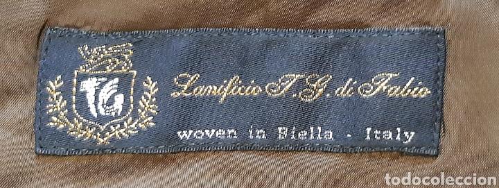 Vintage: Chaqueta Italiana de lana 100% firma BENVENUTO. Años 90. - Foto 3 - 222114170