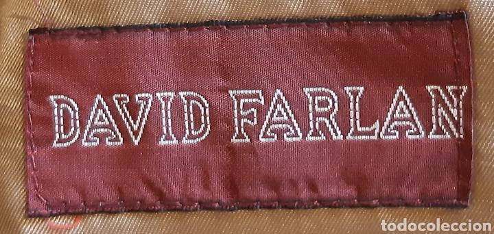 Vintage: Chaqueta de caballero de la firma DAVID FARMAN , lana 100% , en perfecto estado . Años 90. - Foto 2 - 222116053