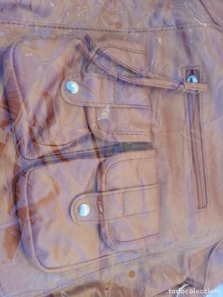Vintage: Bonito bolso/mochila de color marrón - Foto 4 - 222121910