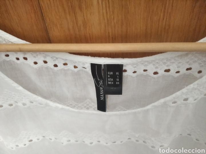 Vintage: Camiseta blusa Mango Suit talla XL blanca - Foto 3 - 222231191