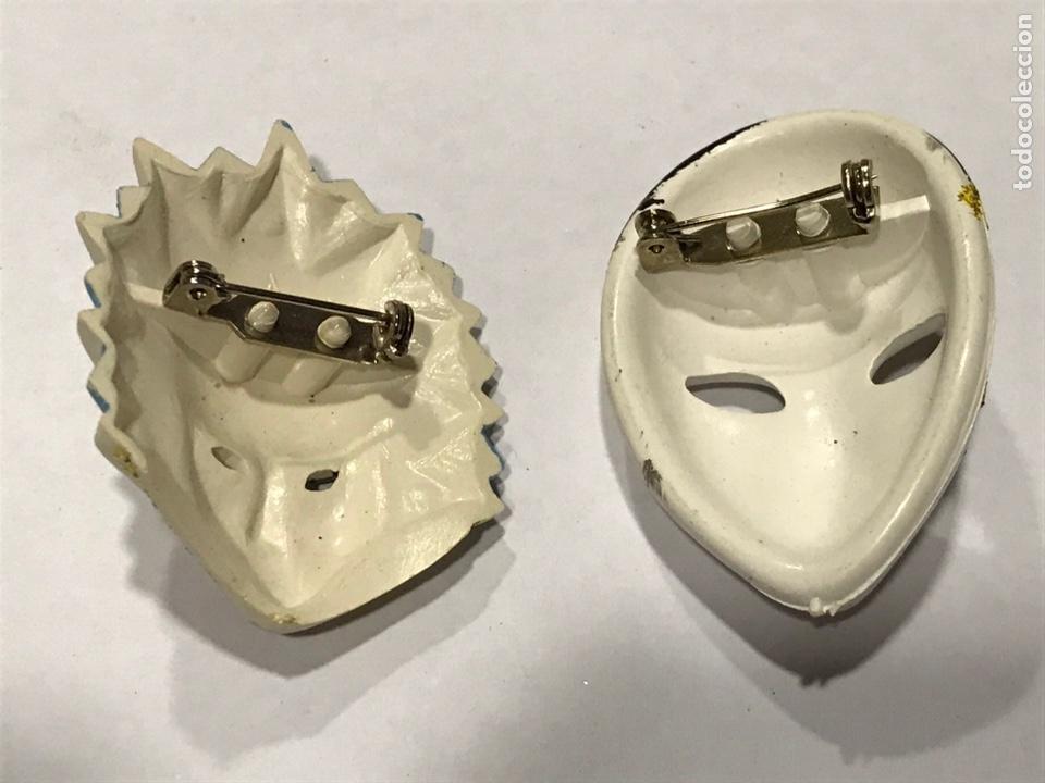 Vintage: 2 broches de plástico - Foto 2 - 222367536