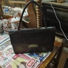 Vintage: BOLSO DE PIEL. Lote 222844937