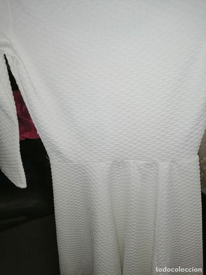 Vintage: Vestido blanco, corto - Foto 5 - 222899740