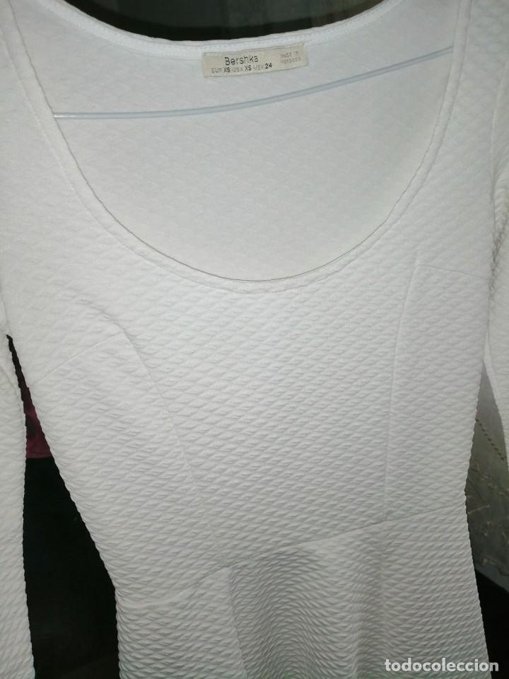 Vintage: Vestido blanco, corto - Foto 6 - 222899740