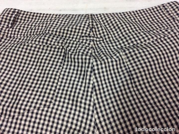 Vintage: Envío 8€ . Pantalón de seda de hombre JEAN PAUL GAULTIER cintura 90, largo 100, ancho camal 20cm - Foto 2 - 224593332