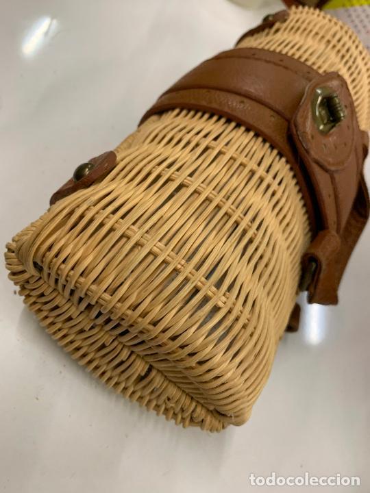 Vintage: Gracioso bolso de mano de enea o junco.Mide aprox 24x10cms sin contar el asa - Foto 5 - 224622807