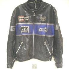 Vintage: CAZADORA RETRO VINTAGE COMPETICIÓN MOTO GP AÑOS 70, DE LA CASA SEGURA. TALLA 5 XL. Lote 225457750