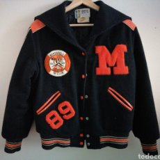 Vintage: CHAQUETA HIGH SCHOOL. TROPHY JACKETS. 80'S.. Lote 225732767