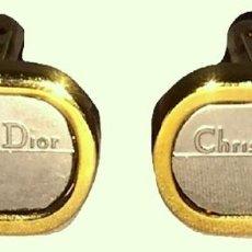Vintage: CHRISTIAN DIOR PAR DE GEMELOS VINTAGE. Lote 226433520