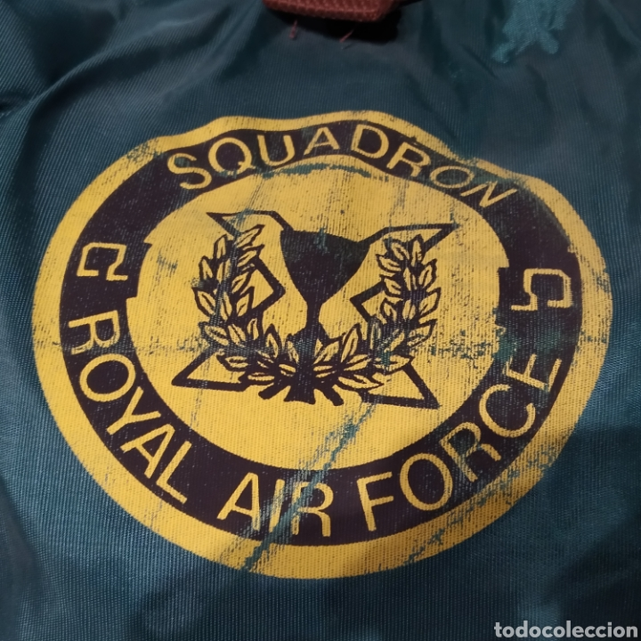 Vintage: Antigua mochila infantil de excursionismo marca Roy fabricada por Palacios. Squadron Royal Air Force - Foto 3 - 226620905