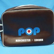 Vintage: BOLSO/BOLSA/BANDOLERA - POP MANCHESTER-LONDON / LIVERPOOL-LEEDS. Lote 226968175