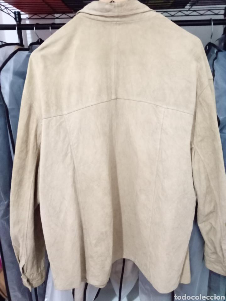 Vintage: Camisa de piel - Foto 2 - 226986590