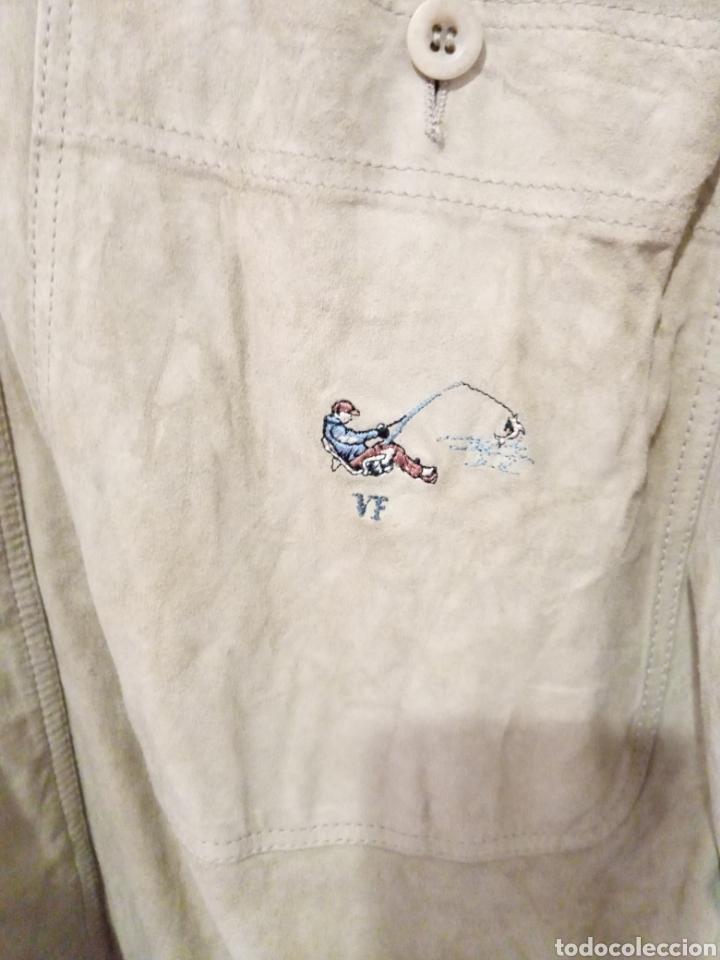 Vintage: Camisa de piel - Foto 4 - 226986590
