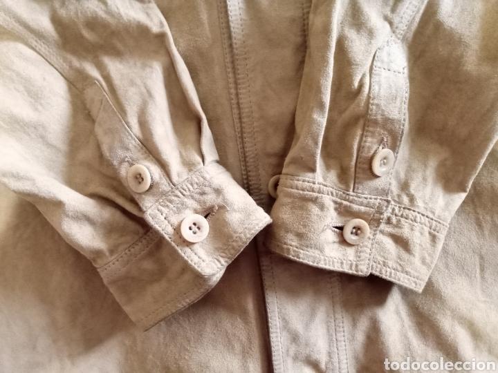 Vintage: Camisa de piel - Foto 7 - 226986590
