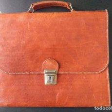 Vintage: CARTERA DE CUERO. Lote 228520165