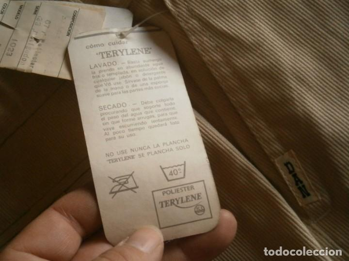 Vintage: PANTALON VINTAGE, TERYLENE, TALLA: 38 - Foto 5 - 229030020