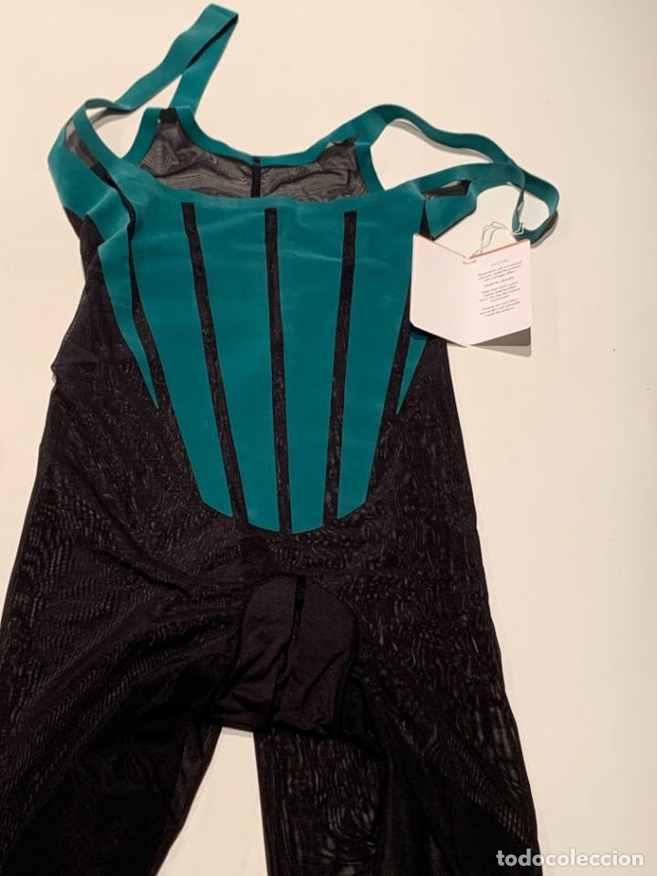 Vintage: Wolford, body moldeador de tul ultraligero, edición 70cumpleaños, negro y jade. Nuevo. Oferta - Foto 8 - 230071470