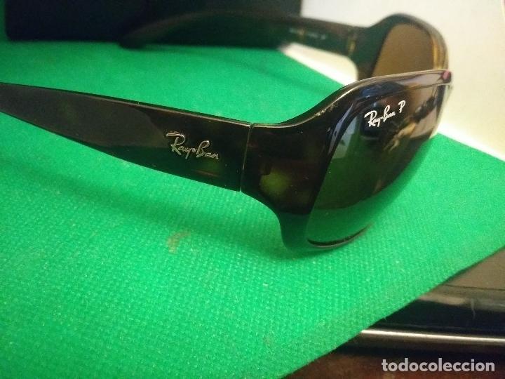 Vintage: gafas ray ban polarized rb4118 710/57 3p - Foto 4 - 230214640