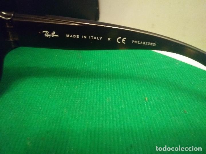 Vintage: gafas ray ban polarized rb4118 710/57 3p - Foto 6 - 230214640