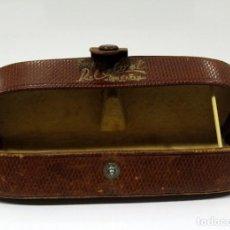 Vintage: FUNDA GAFAS PIEL. ANTIGUA Y PRECIOSA.. Lote 231330615