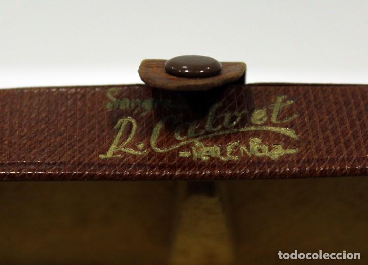 Vintage: FUNDA GAFAS PIEL. ANTIGUA Y PRECIOSA. - Foto 2 - 231330615