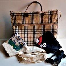 Vintage: BOLSAS VARIAS TELA Y OTROS. Lote 231912405