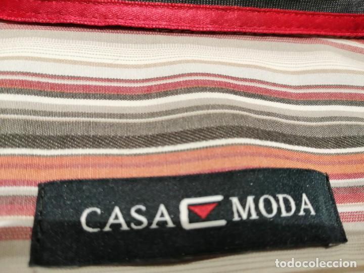 Vintage: CAMISA CASA MODA - Foto 8 - 232037205