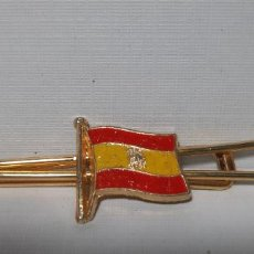Vintage: PASACORBATA BANDERA DE ESPAÑA. Lote 234720105