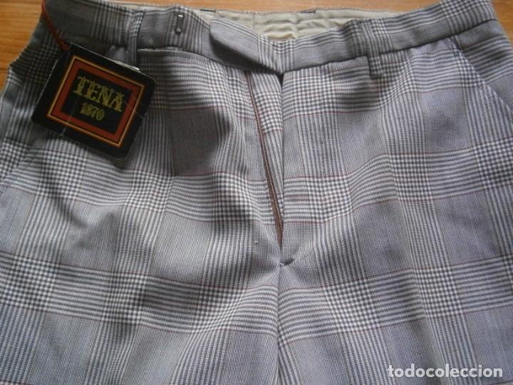 Vintage: pantalon de los años 70 80 nuevo de un viejo almacen ,unico,en tc,casa tena t 42 - Foto 2 - 235057210