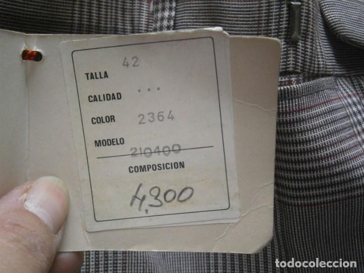 Vintage: pantalon de los años 70 80 nuevo de un viejo almacen ,unico,en tc,casa tena t 42 - Foto 4 - 235057210