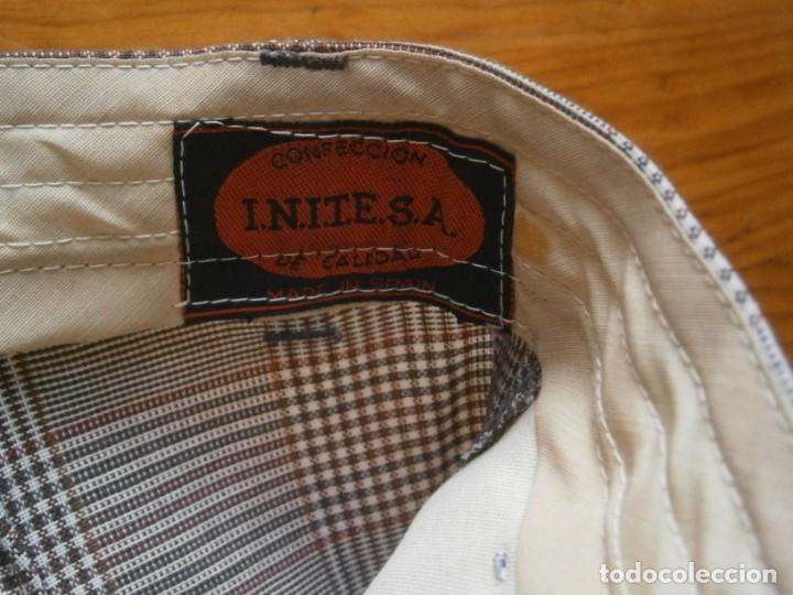 Vintage: pantalon de los años 70 80 nuevo de un viejo almacen ,unico,en tc,casa tena t 42 - Foto 5 - 235057210