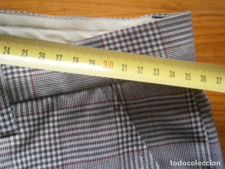 Vintage: pantalon de los años 70 80 nuevo de un viejo almacen ,unico,en tc,casa tena t 42 - Foto 6 - 235057210